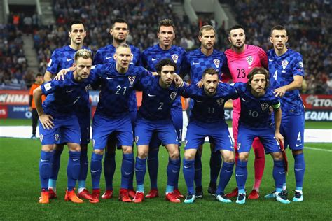 Russia Croatia Prepare For Nigeria Clash With