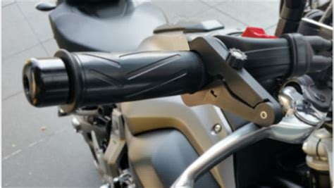 Black Universal Motorcycle Throttle Lock Cruise Control