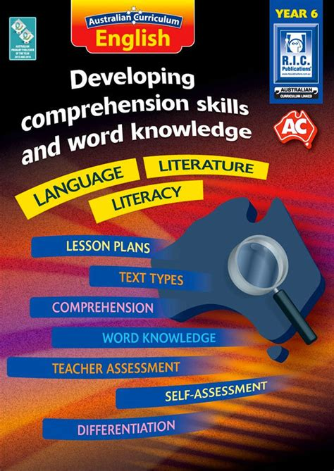 Australian Curriculum English  Developing Comprehension Skills And Word Knowledge (year 6