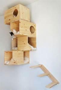 Arbre A Chat En Palette : 10 diy pour les chats cocon d co vie nomade ~ Melissatoandfro.com Idées de Décoration