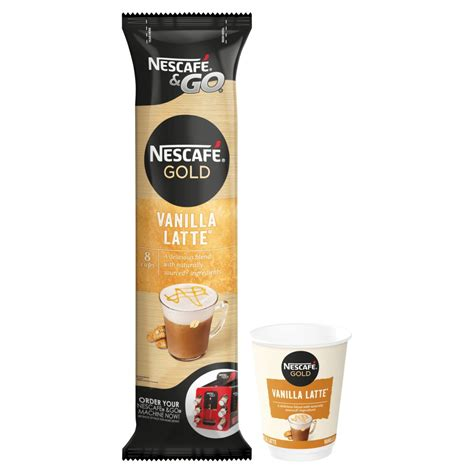 Nescafé & Go Gold Vanilla Latte 8 x 22.5g   BB Foodservice