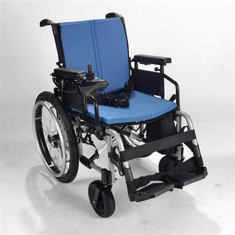 Electric Wheelchair  Powerchair With Self Propel Wheels