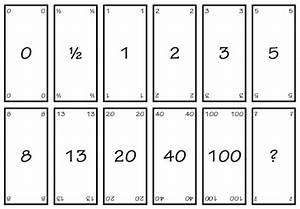 agile planning poker view from the potting shed With planning poker cards template