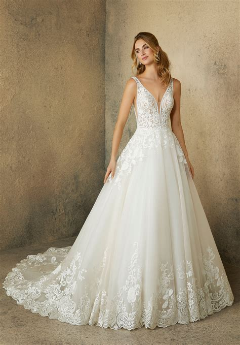 Wedding Dresses by Robin Wedding Dress Style 2089 Morilee