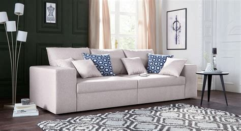 big sofa mit bettfunktion via big sofa wahlweise mit bettfunktion otto