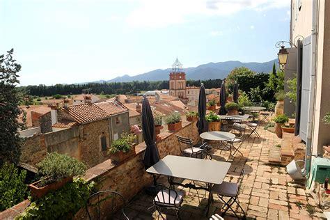 chambre hote collioure terrasse vue collioure chambre d hote château ortaffa