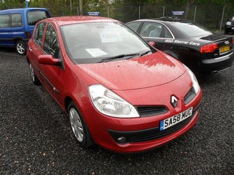 Used Renault Clio 2008 Petrol 1.2 16v Expression 5dr