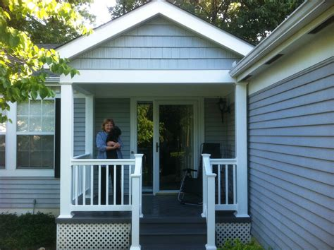 Front Porch with Vinyl Decking