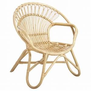 Fauteuil Rotin Rond : fauteuil rond en rotin naturel boisnature 39 l ~ Dode.kayakingforconservation.com Idées de Décoration