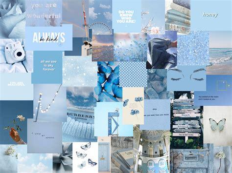 blue wallpaper in 2020 aesthetic desktop wallpaper