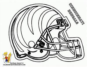 Get This Nfl Coloring Pages Helmets 17391