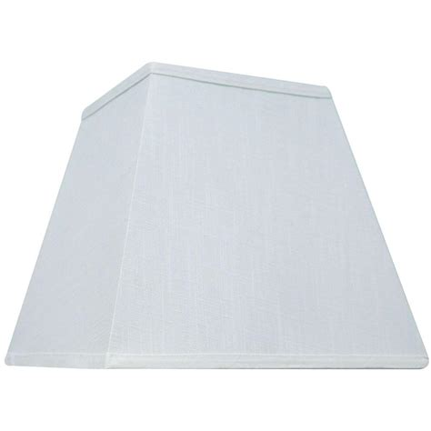 Hton Bay Mix Match White Square Table Shade 15789