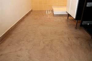 realisation salle de bain et beton cire en seine et marne With beton cire sol salle de bain