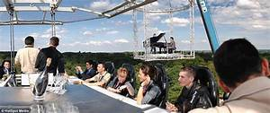 dining in the sky experience that suspends guests 160ft With dinner in the sky bathroom