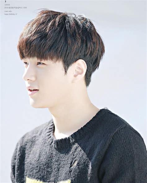 korean undercut hairstyle  men