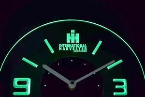 International Harvester Tractors Modern LED Neon Wall