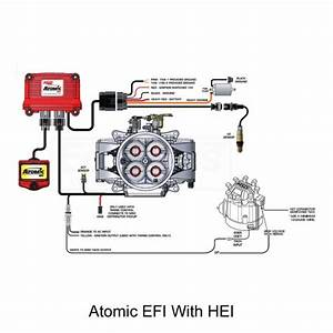 Atomic Efi 2  Fuel Injection Conversion  Master Kit With