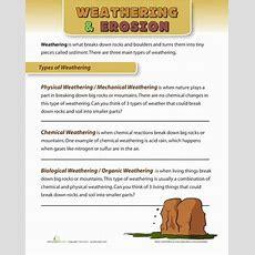 Weathering And Erosion Worksheets & Free Printables Educationcom