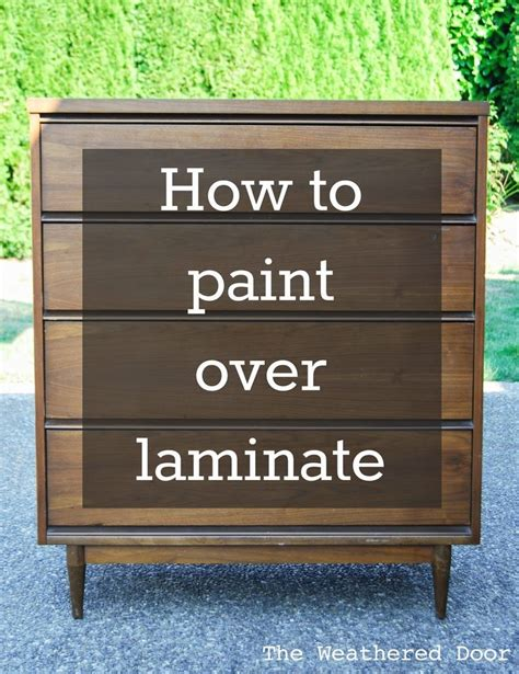 how to refinish a dresser with paint the 25 best ideas about painting laminate furniture on pinterest refinishing laminate