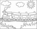 Train Coloring Thomas Printable Trains Colouring Sheet Cars Sheets Colour Children sketch template