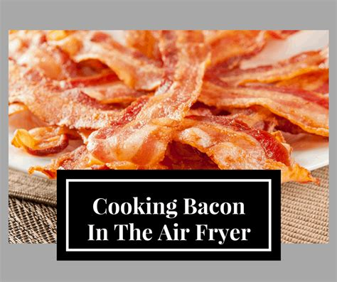 fryer air bacon making tips cooking affiliate included note links
