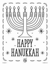 Resume Cover Sheet Template Happy Hanukkah Coloring Sheet Printable Pdf Download