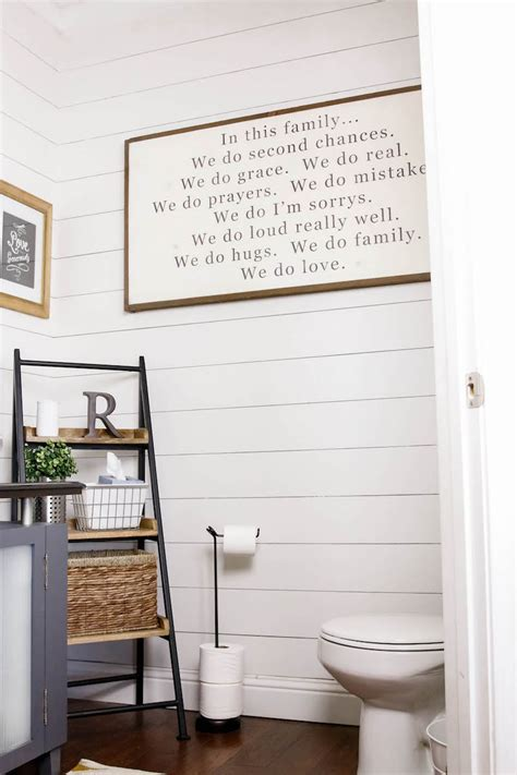small master bathroom ideas photo gallery diy shiplap tutorial