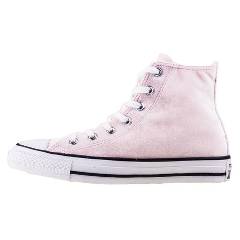 light pink converse converse chuck all hi womens trainers in light