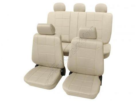 housse de siege auto cuir housses pour sièges de voitures auto aspect cuir kit
