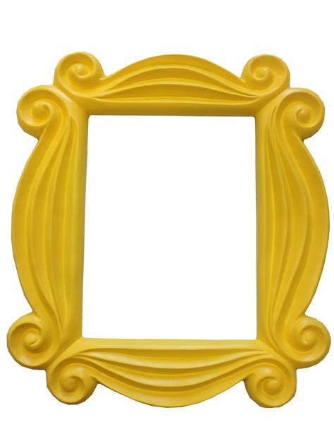 friends door frame s yellow peephole picture frame