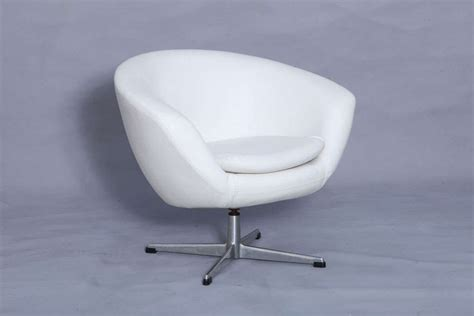 swivel pod chair furniture pair of overman swivel pod chairs at 1stdibs