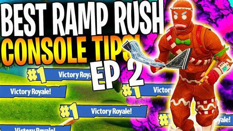 ramp rush tips  console players part