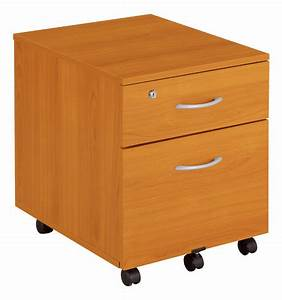 Caisson Tiroir Bois : caisson mobile bois classique 2 tiroirs ~ Teatrodelosmanantiales.com Idées de Décoration
