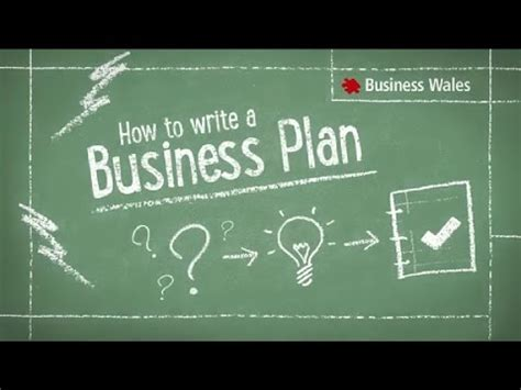 Tv Show Business Plans Templates by How To Write A Business Plan Youtube
