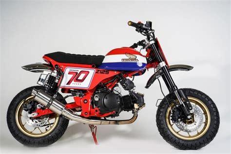 Custom 2019 Honda Monkey 125 'tracker' Mini Bike