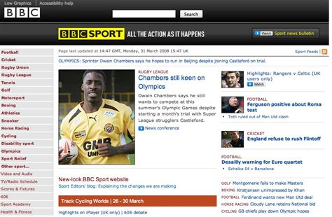 BBC News and Sport websites show off new looks Editors