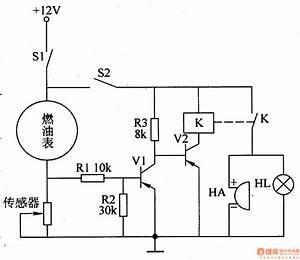Fuel Level Circuit Diagram