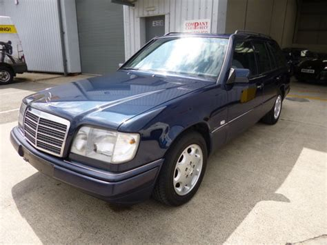 1994 mercedes e320 w124 estate japan import service history sold car and classic