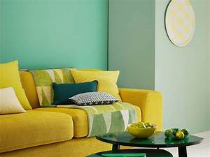 Grau Grün Wandfarbe : welches gr n als wandfarbe 35 ideen mit gr nt nen ~ Frokenaadalensverden.com Haus und Dekorationen