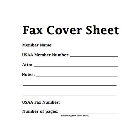 11688 standard fax cover sheet 14 sle basic fax cover sheets sle templates