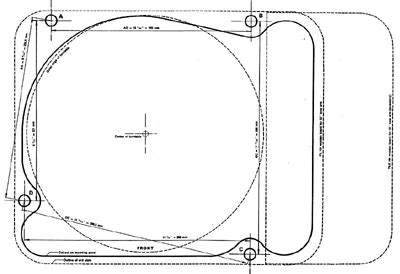 thorens td 125 armboard template index of amb
