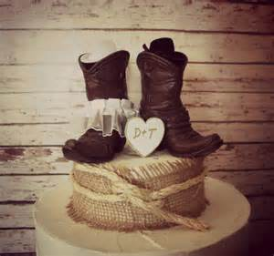 country themed wedding cakes country western wedding cowboy boots wedding by morganthecreator