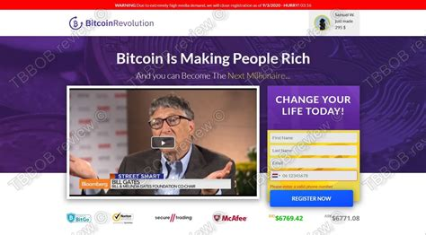 The testimonials and reviews that the technology has is the surest explanation of its. The Bitcoin Revolution scam - exposed in our real review