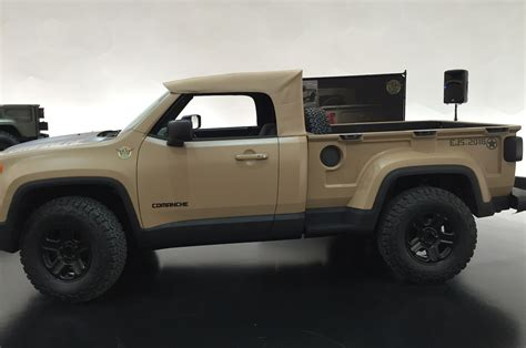 jeep comanche concept side view mopar connection