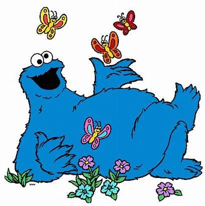 Sesame Cookie Monster Street Clipart Clip Cartoon
