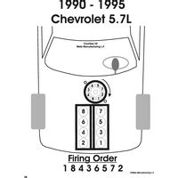 solved firing diagram for chevy 350 fixya