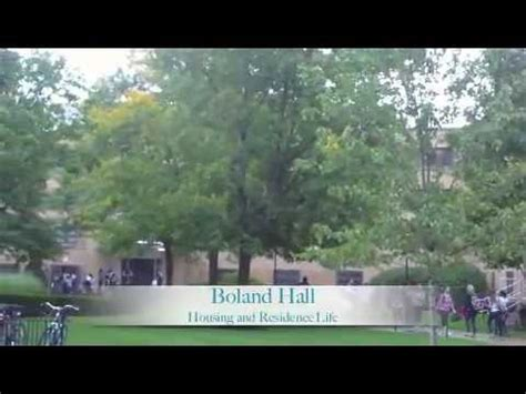 residence hall  boland hall youtube