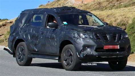 nissan suv 2016 spied nissan np300 navara suv in production guise