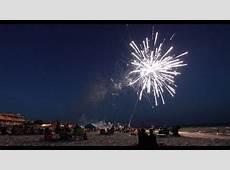 Independence Day Celebration on St George Island, Florida