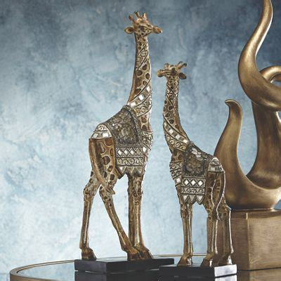 set   giraffe figurines  seventh avenue dw